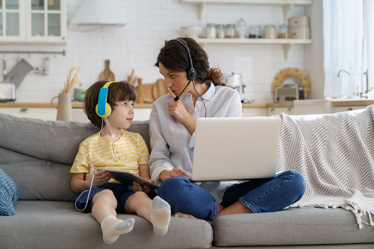 How to Balance Working from Home and Kids' Distance Learning